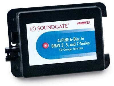 Soundgate ABMW35V5 Alpine Cd Disc Changer Interface For BMW Model Vehicles New Alpine Cd Changer Interface