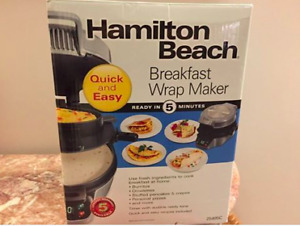 Hamilton Beach Breakfast Wrap Maker