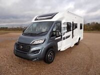 4 berth Swift motorhome available to rent
