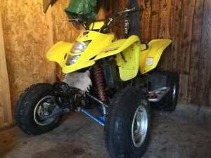 03 ltz 400 needs battery trade for trike, utility quad or boat