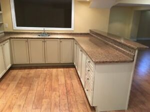 Kitchen Cabinet with Bar Reck For Sale