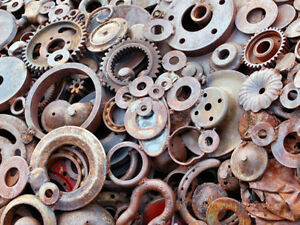 WANTED light weight scrap metal for artwork