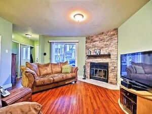 2bed - woodburning fireplace - laundry room - walk in pantry