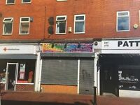 Cafe/takeaway/retail shop to let New Ferry