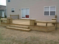 New Deck or Fences