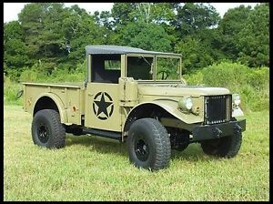 WANTED:   MILITARY DODGE M37 POWER WAGON