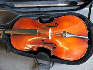 Menzel 4/4 Cello with Case and Bow