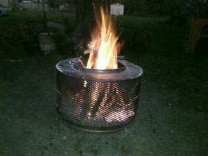 Fire Pit, stainless will last forever will not rust! firepit fun