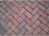 Paving bricks wanted