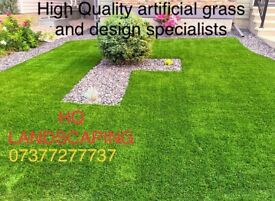 HQ Landscaping/ artificial grass/ Indian sandstone specialists