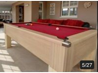 Geordie slate pool table - 7ft x 4ft