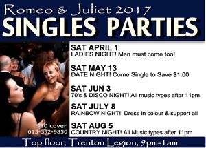 R&J Dance Party! *Date Night* May13th 2017 Belleville Belleville Area image 3
