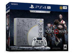 Limited Edition God of War PS4 Pro SEALED BRAND-NEW!!!