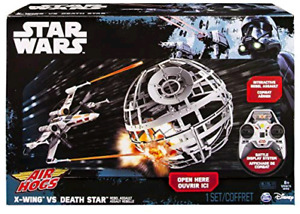 Star Wars X Wing vs Death Star Drone set