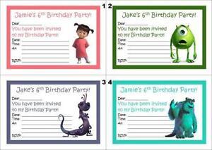 Party Invitations Cards Stationery Ebay