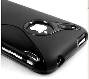 TPU Case Cover for iPhone 3G 3GS - Black