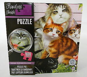 1000 Piece Jigsaw Puzzle - Adorable Cats Kittens Kitties  NEW!!