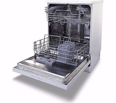 Smeg dishwasher dfd613w full-sized 13 plates in white new