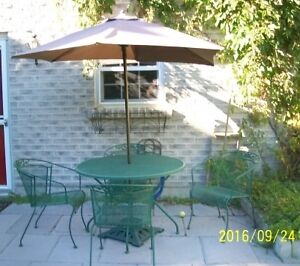 Patio Set Moving--Must Sell!