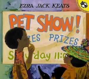 Childrens-Paperback-Book-PET-SHOW-By-Ezra-Jack-Keats