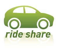 Rideshare from Windsor to Toronto on Friday 12 pm