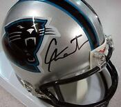 Carolina Panthers Signed Mini Helmet