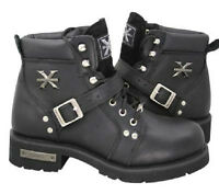 Ladies Motorcycle Boots size 9