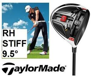 NEW TAYLORMADE MEN'S GOLF DRIVER RIGHT HAND  ALDILA GRAPHITE - STIFF FLEX - 9.5 DEGREE - SPORTS CLUB OUTDOOR 100245041