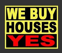 We buy all properties homes and condos in the same day