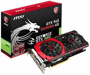 MSI gtx 960 4 gb OC edition
