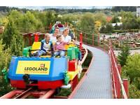 1x Legoland 24 September ticket
