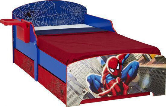 Marvel Spider Man Kids Toddler Bed By Worlds Apart In Swinton