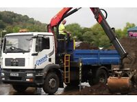 GRAB LORRY - 18 TONNE FOR HIRE