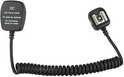 JJC FC-N3A Ttl Fuera de Cámara Flash Zapato Caliente Sync Cable Para...