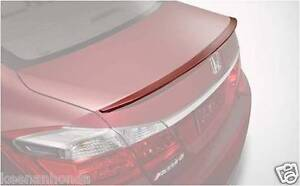Genuine OEM Honda Accord 4DR Sedan Deck Lid Spoiler 2013