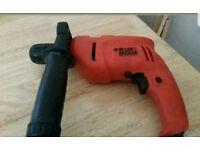 Black and Decker KR 500 cre 500 watt corded drill 13mm Chuck