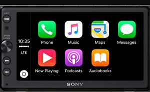 Sony apple car play sterio