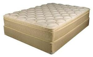 DOUBLE SIZE PILLOW TOP $190 & QUEEN SIZE PILLOW TOP $199