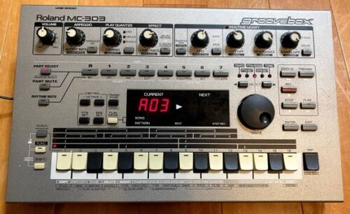 Roland MC-303 Groove box Sequencer Drum Machine Sound from Japan Free Postage