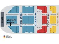 Bastille Tickets x3 Manchester Front Stalls Row M o2 Apollo Tuesday 10th April £270