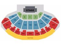 2 x Iron Maiden Tickets - Leeds (Good Seats 218)