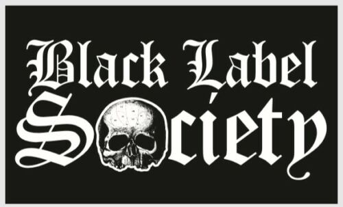 BLACK LABEL SOCIETY STICKER DECAL 3 inches tall X 5 inches wide bls zakk wylde