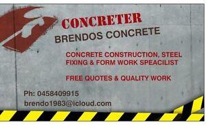 BRENDOS CONCRETE Millbank Bundaberg City Preview
