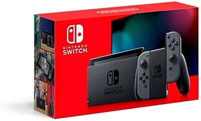 2020 Nintendo Switch With Grey Joy-Con 32gb (Latest Model) Same Day Ship