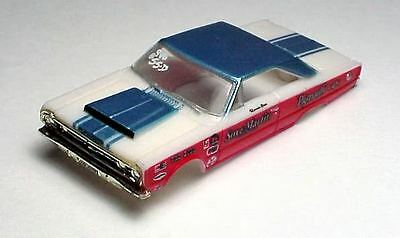 SOX & MARTIN GTX HO SLOT CAR BODY. MODEL MOTORING .NEW.NEVER MOUNTED