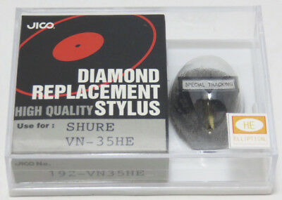 Jico Hyper Elliptical Stylus Vn35he for Shure V15/III New