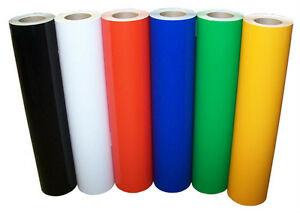 "5roll pack 12""x10ft Adhesive Craft Vinyl for Cameo,Cricut,decals"