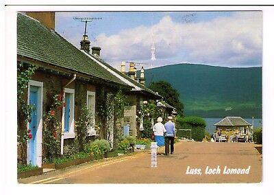 Postcard: Luss, Loch Lomond, Scotland