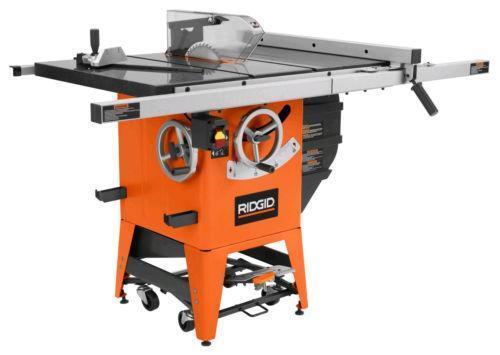 Ridgid table saw ebay for 12 inch ridgid table saw
