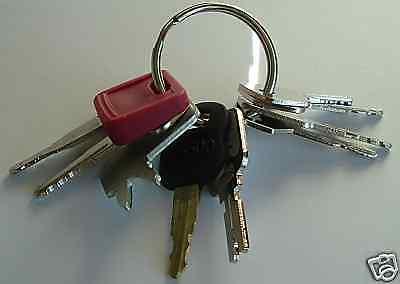 9 Keys - Heavy Construction Equipment Key Set - New